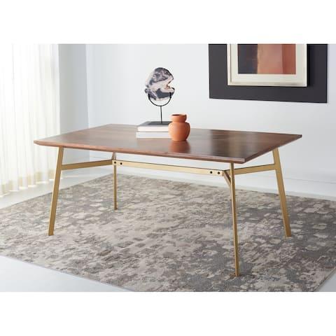 "SAFAVIEH Couture Dakota Rectangle Dining Table - 68.9"" W x 35.4"" L x 29.9"" H"