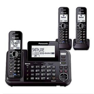 Panasonic KX-TG9543B (KX-TG9542B + KX-TGA950B) 3-Handset Cordless System (2 Line) DECT 6.0 1.9Ghz