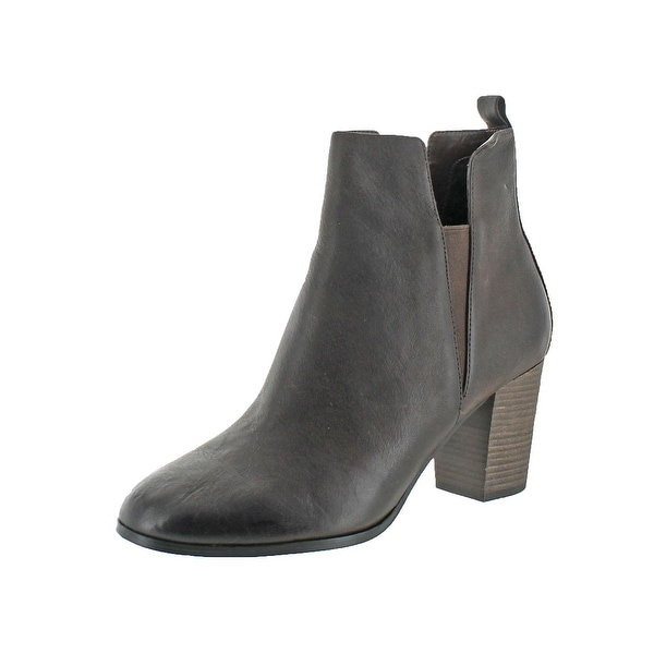 Cole Haan Womens Cassidy Booties Ankle Stacked Heel - 7.5 medium (b,m)