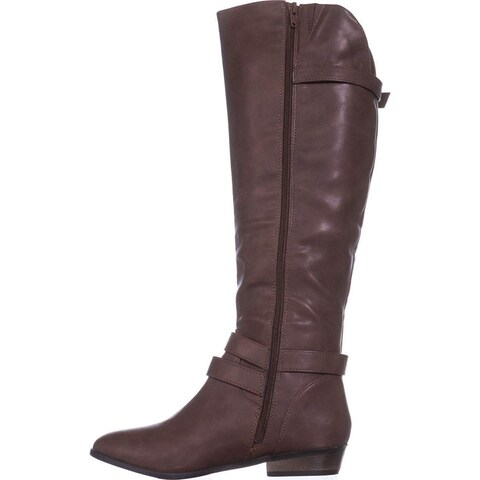 Material Girl Womens Carleigh Closed Toe Over Knee Fashion Boots