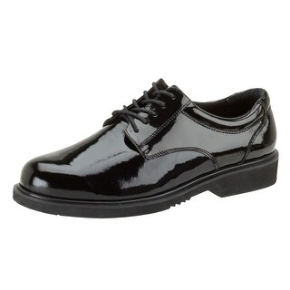 Thorogood Work Shoes Mens Academy Oxford High Gloss Black 831-6031