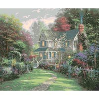 "Paint By Number Kit 16""X20""-Victorian Garden Ii"
