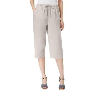 Karen Scott Womens Capri Pants Linen Comfort Waist|https://ak1.ostkcdn.com/images/products/is/images/direct/026571a7e1d1872cd26340dc891d42a1afc142d9/Karen-Scott-Womens-Capri-Pants-Linen-Comfort-Waist.jpg?impolicy=medium