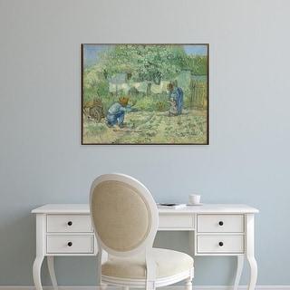 Easy Art Prints Vincent Van Gogh's '64.165.2' Premium Canvas Art