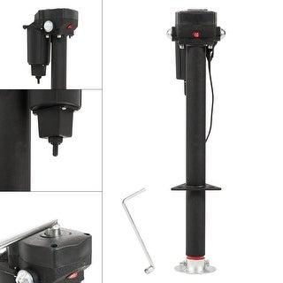 Arksen 12-Volt, Electric Power Tongue, A-Frame RV Trailer Jack, Adjustable Height - 3500 LB