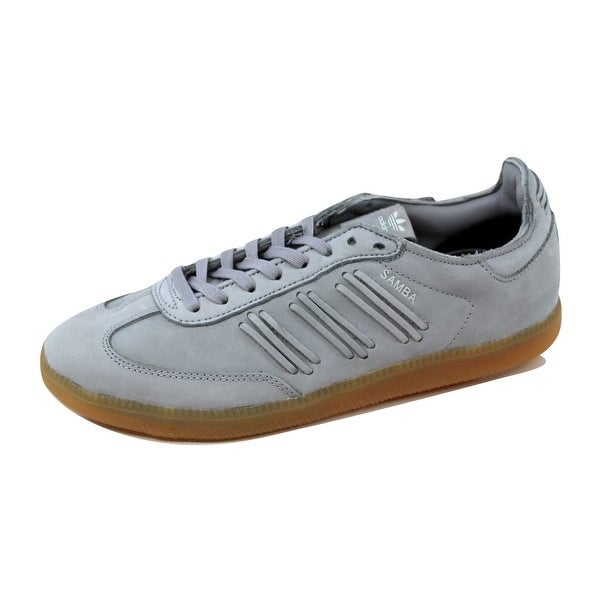 Adidas Women's Samba W Light Onix/White-White BY2833 Size 8.5