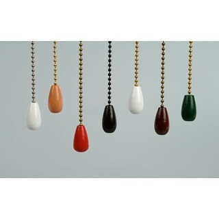 Craftmade RP-14 Wooden Bead Pull Chain for Craftmade Ceiling Fans