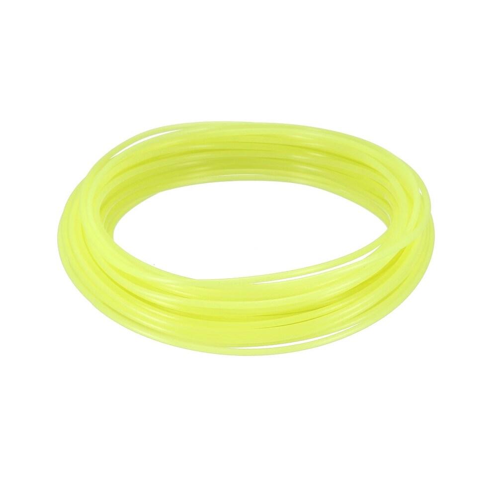 10 Meter/32.5 Ft PLA 3D Pen/3D Printer Filament, 1.75 mm Luminous Yellow -  Unique Bargains