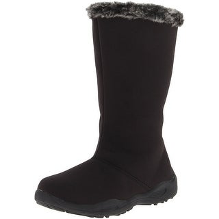 Propét Womens Madison Tall Zip Closed Toe Mid-Calf Cold Weather Boots