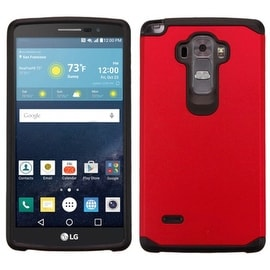 Insten Dual Layer Hybrid Rubberized Hard PC/ Silicone Case Cover For LG G Stylo LS770/ G Vista 2