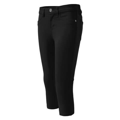 NE PEOPLE Womens Comfortable Colorful Skinny Capri Pants (NEWP10)