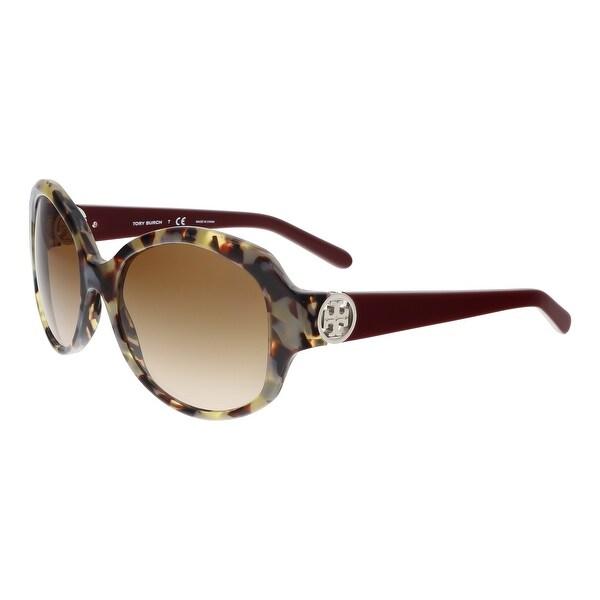 Tory Burch TY7085 147613 Porcini Square Sunglasses - 55-18-135