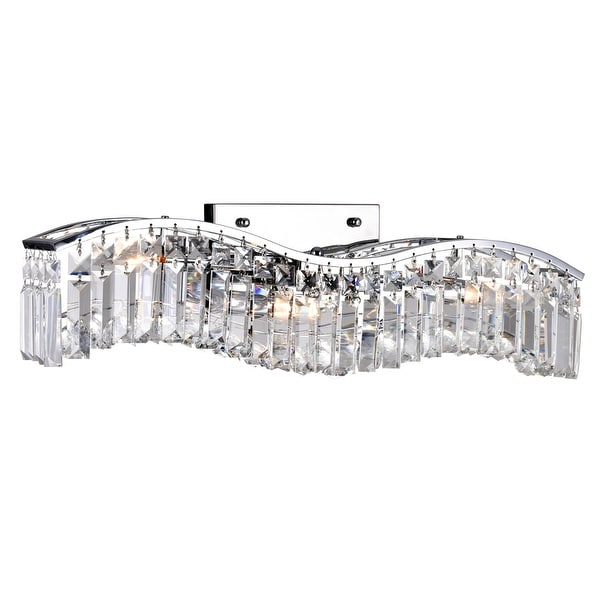 Silver Orchid Cooper 3-light Wall Sconce with Chrome Finish. Opens flyout.