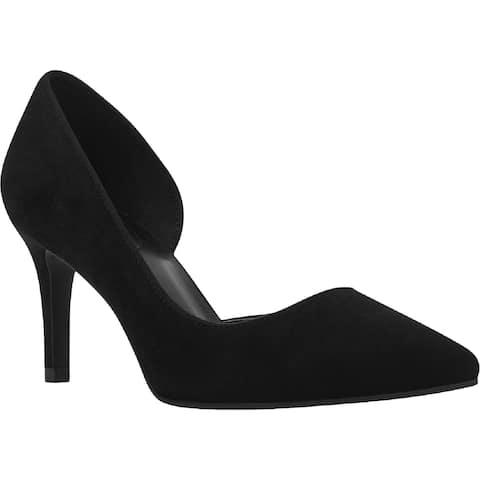 Bandolino Womens Greti D'Orsay Heels Suede Dress - Black Suede - 6 Medium (B,M)