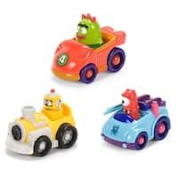 "Yo Gabba Gabba 4"" Muno, Plex, Brobee Figure Vehicles: Case of 9 - Multi"