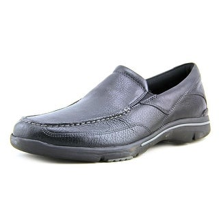 Rockport Eberdon Men  Round Toe Leather Black Loafer