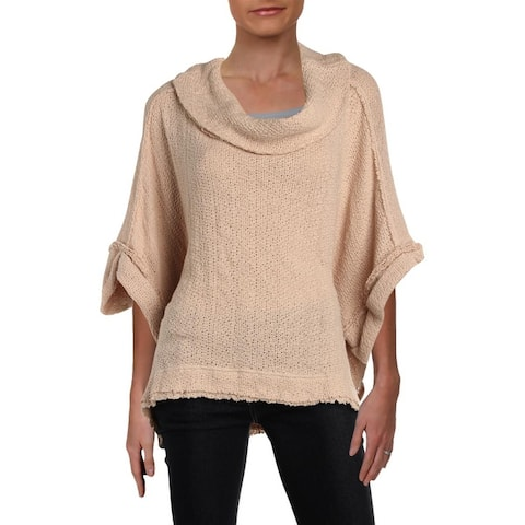 We The Free Womens Pullover Sweater Knit Short Sleeves