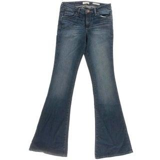Jessica Simpson Womens Juniors Dreamer Dorian Wash Skinny Flare Jeans - 27