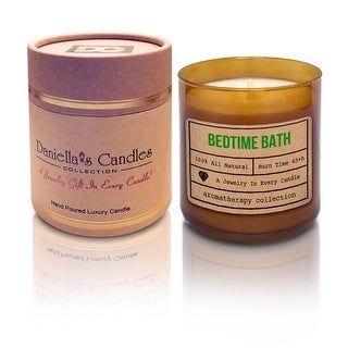 Bedtime Bath Aromatherapy Jewelry Candle - Ring Size 8