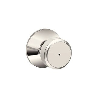 Schlage F40-BWE Bowery Privacy Door Knob Set from the F-Series - N/A