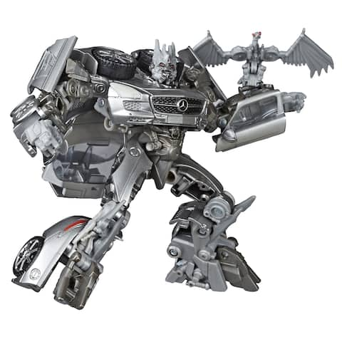 Transformers Toys Studio Series 51 Deluxe Transformers: Dark Of The Moon Soundwave Action Figure - 8 And Up, 4.5-Inch