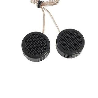 Unique Bargains 2 x 97dB 500W Dome Tweeters Black for Car Audio System