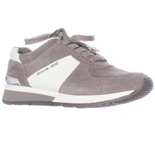 MICHAEL Michael Kors Allie Trainer Sneakers, Steel Grey - 5.5 us