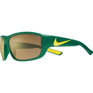 Nike EV0892-370 Mercurial Sunglasses Pine Green Yellow Bronze Flash Lens - Pine Green