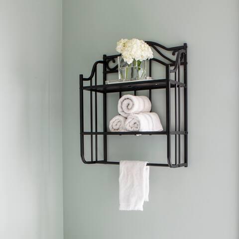 Juliette Bathroom Wall Shelf Space Saver