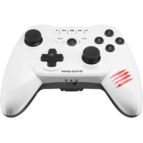 MAD CATZ MCB322660001/04/1 CTRLR DualBT Mobile Gamepad White