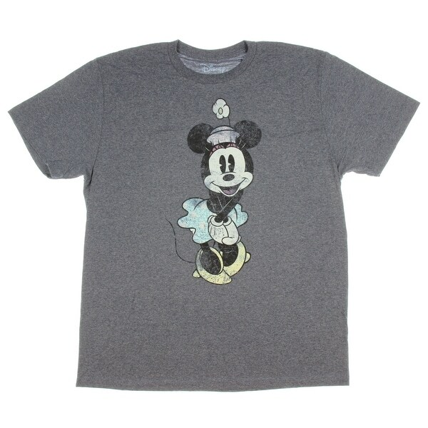 039a64f7 Shop Disney Minnie Mouse Shirt Vintage Cute Graphic Men's Adult T-Shirt -  Free Shipping On Orders Over $45 - Overstock - 22843658