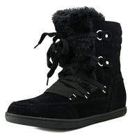 G By Guess Ryla Round Toe Canvas Winter Boot