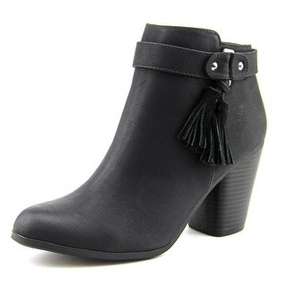 Material Girl Molly Women Round Toe Synthetic Ankle Boot