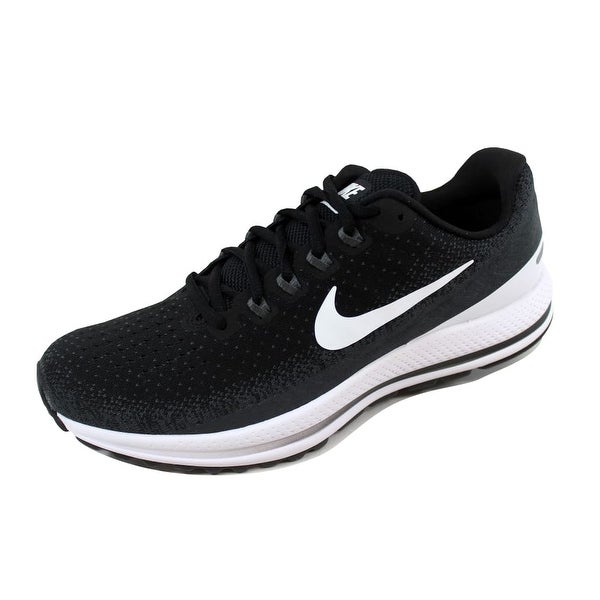 d05e95fcced77 Shop Nike Air Zoom Vomero 13 Black White-Anthracite 922908-001 Men s ...