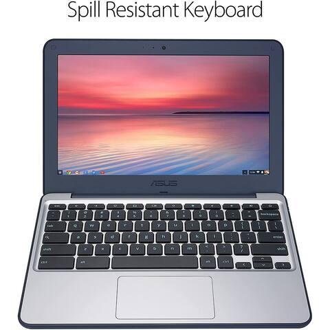 """ASUS Chromebook 11.6"""" Intel Celeron 4GB RAM 16GB SSD Chrome OS Grade B"""
