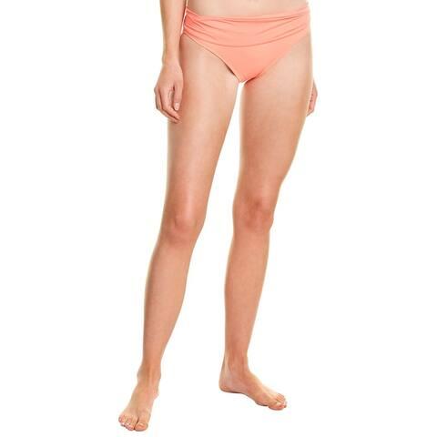 La Blanca Shirred Band Bikini Bottom