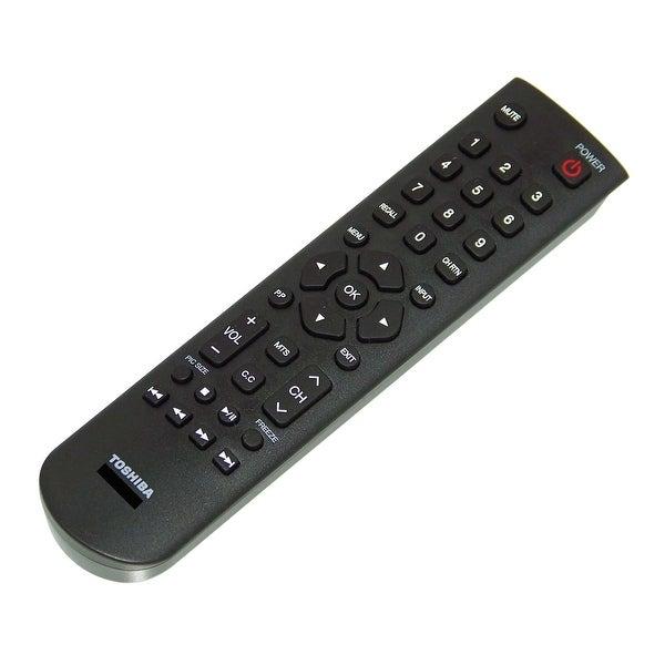 OEM Toshiba Remote Originally Shipped With: 40E220LP, 32C120LP