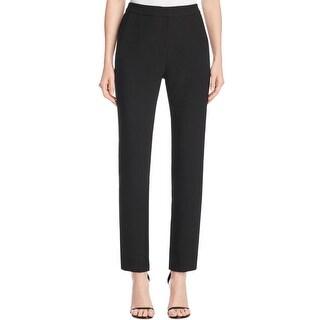 Finity Womens Dress Pants Curvy Crepe