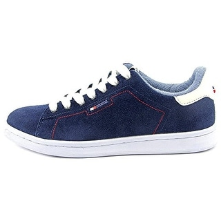 Tommy Hilfiger Suzane Women Round Toe Suede Blue Sneakers
