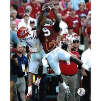 Amari Cooper signed Alabama Crimson Tide 8X10 Photo 9 vertical catch vs Florida