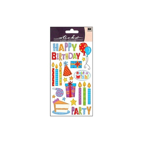 EK Sticko Sticker Birthday Party