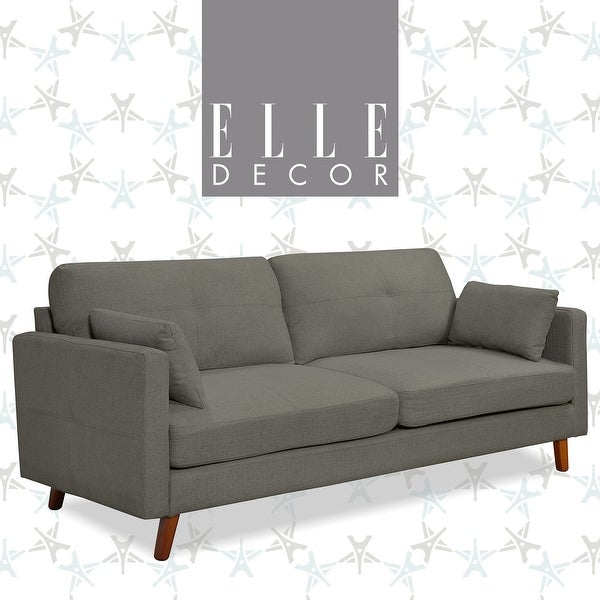 Elle Decor Alix Memory Foam Sofa