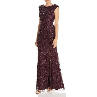 Link to Adrianna Papell Womens Special Occasion Dress Sparkle Mermaid Similar Items in Dresses