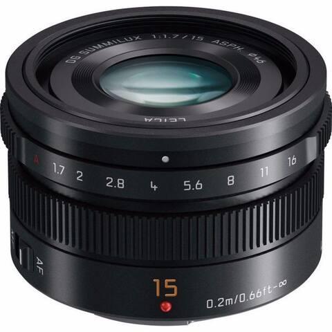 Panasonic LUMIX G Leica DG Summilux 15mm