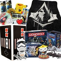 Super Mega Pop Culture Gift Box Bundle with Assassin's Creed Blanket & more - multi