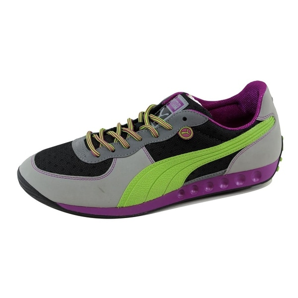 Puma Men's Easy Rider Trek Black/Griffin Gray-Jasmine Green-Hollyhock 348291 06