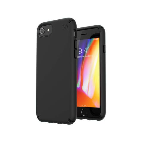 Speck Presidio Pro Designed for Impact Case for iPhone 6s/7/8 - Black/Black - Black