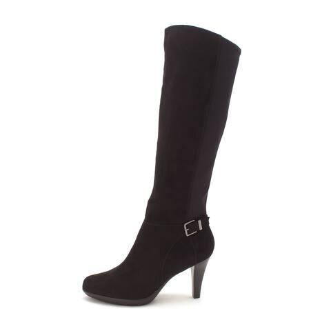 Alfani Womens Vennuss Almond Toe Mid-Calf Fashion Boots