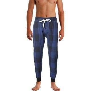 Weatherproof Mens Jogger Pants Flannel Pajamas