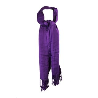 Inc International Concepts Purple Satin Wrap Scarf OS